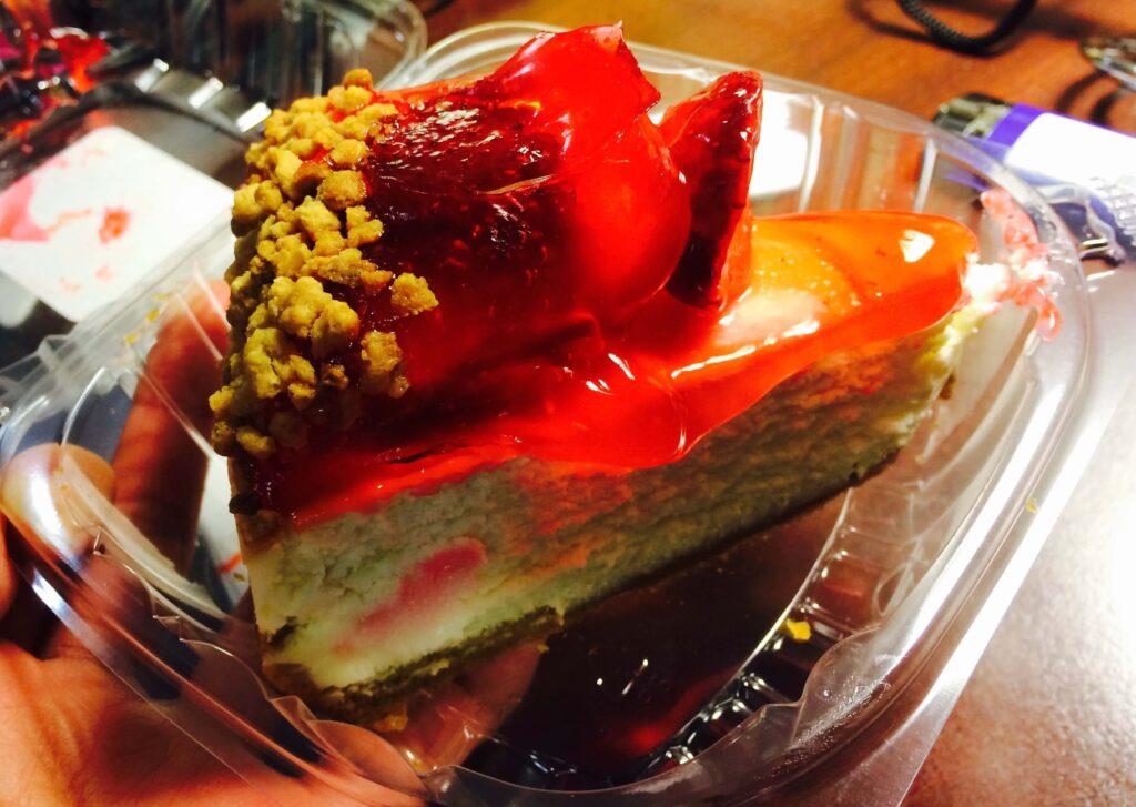 ジュニアズのチーズケーキ
